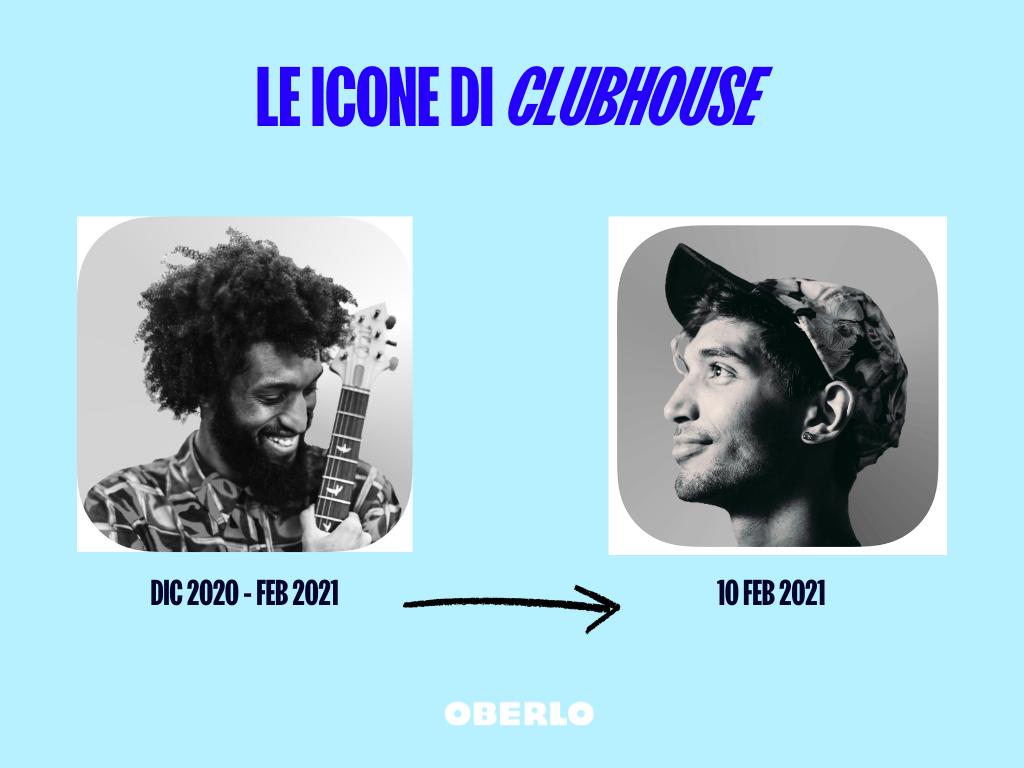 icone di clubhouse