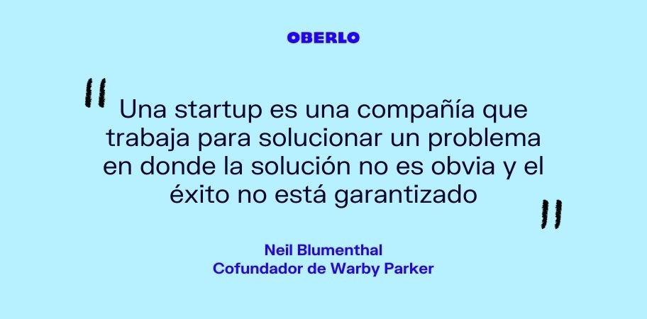 Neil Blumenthal - ¿Qué es una startup?