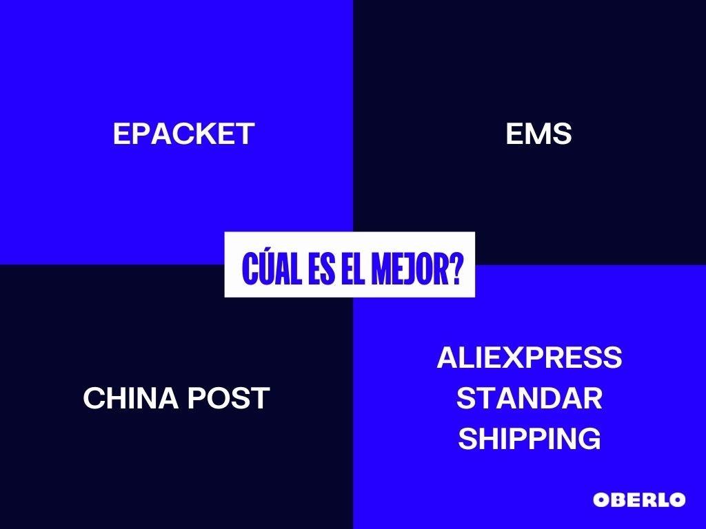 EMS o ePacket: ¿cuál es mejor?