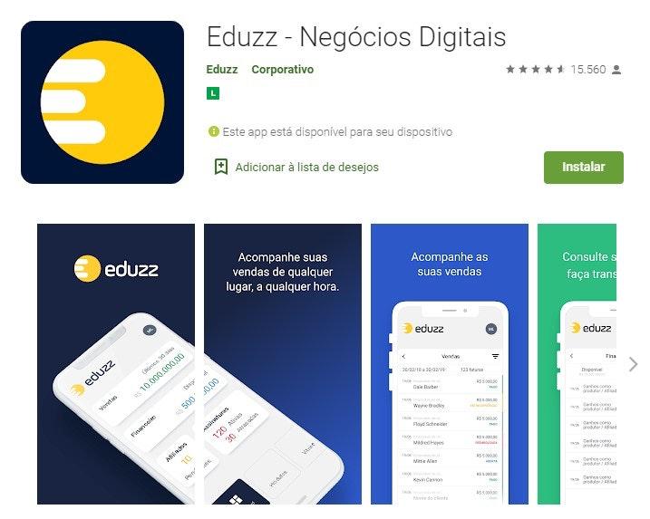 Aplicativos para ganhar dinheiro: Eduzz