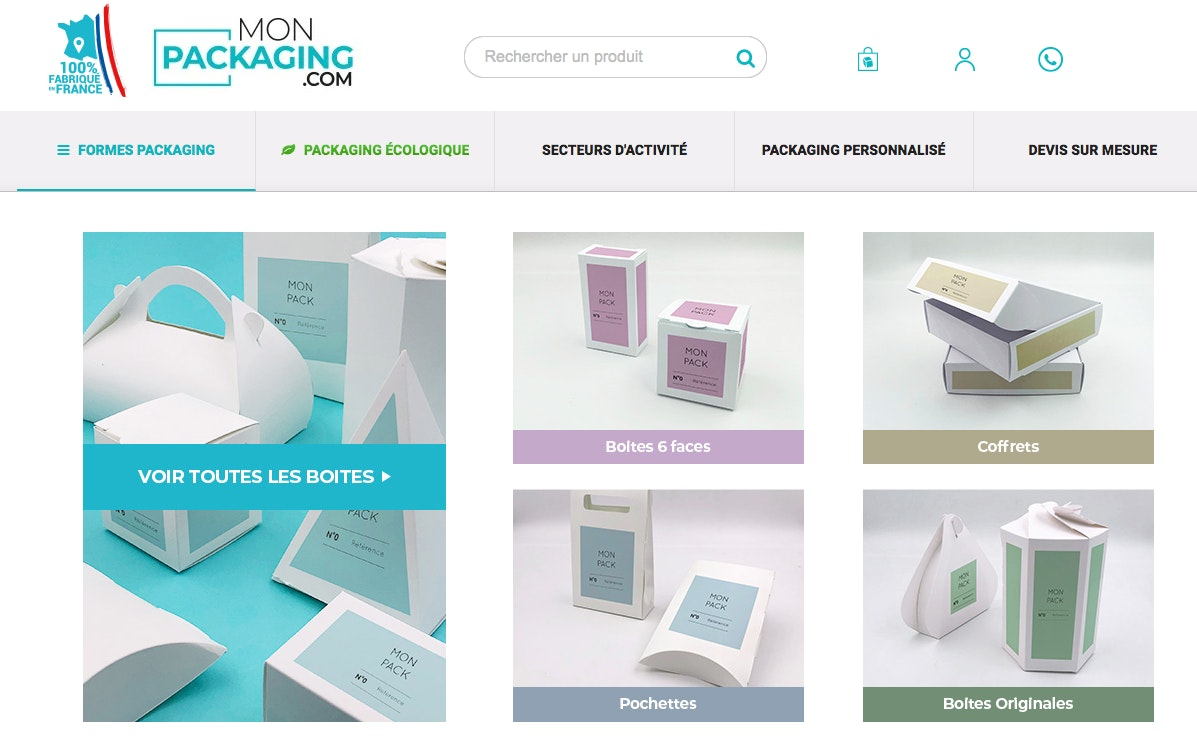 Fournisseur packaging