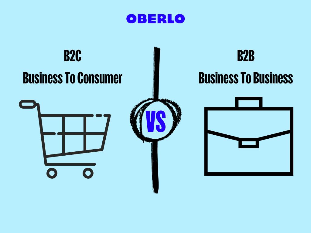 grafica b2b vs b2c