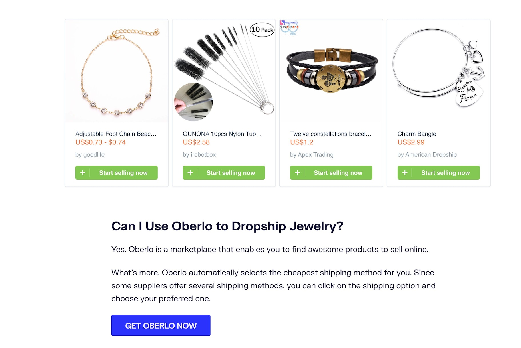 dropshipping jewelry