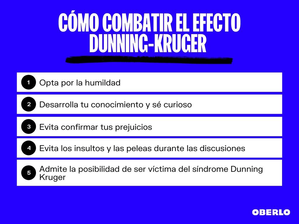 dunning kruger efecto - como combatirlo