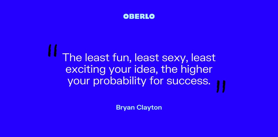 Bryan Clayton on success from an idea