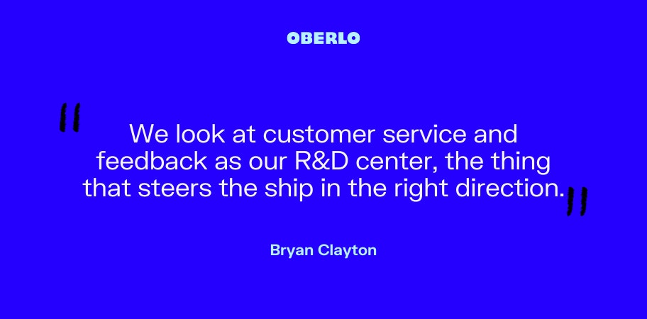 Bryan Clayton on customer service