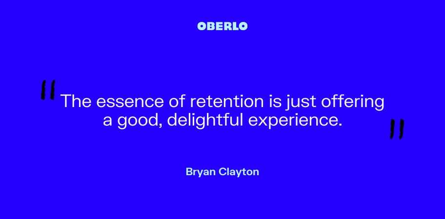 Bryan Clayton on customer retention