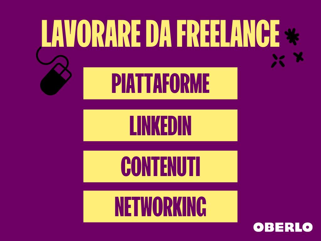 come iniziare a lavorare freelance