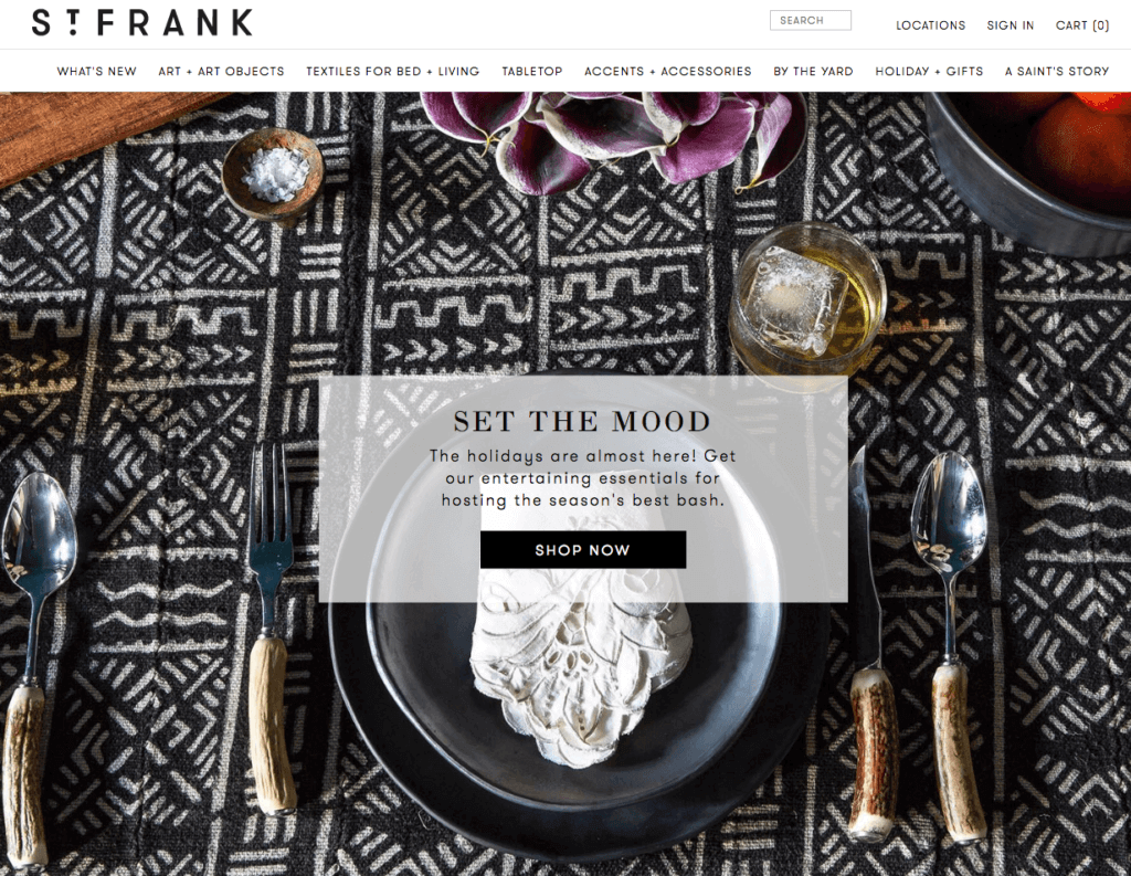 st frank negozio shopify