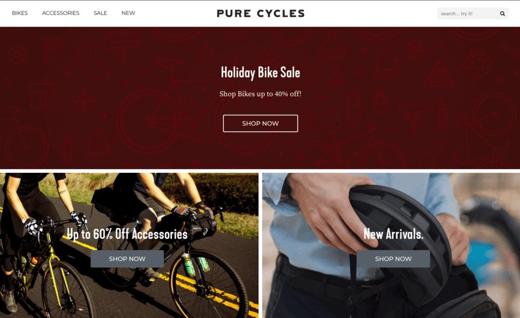 cycling shopify negozi