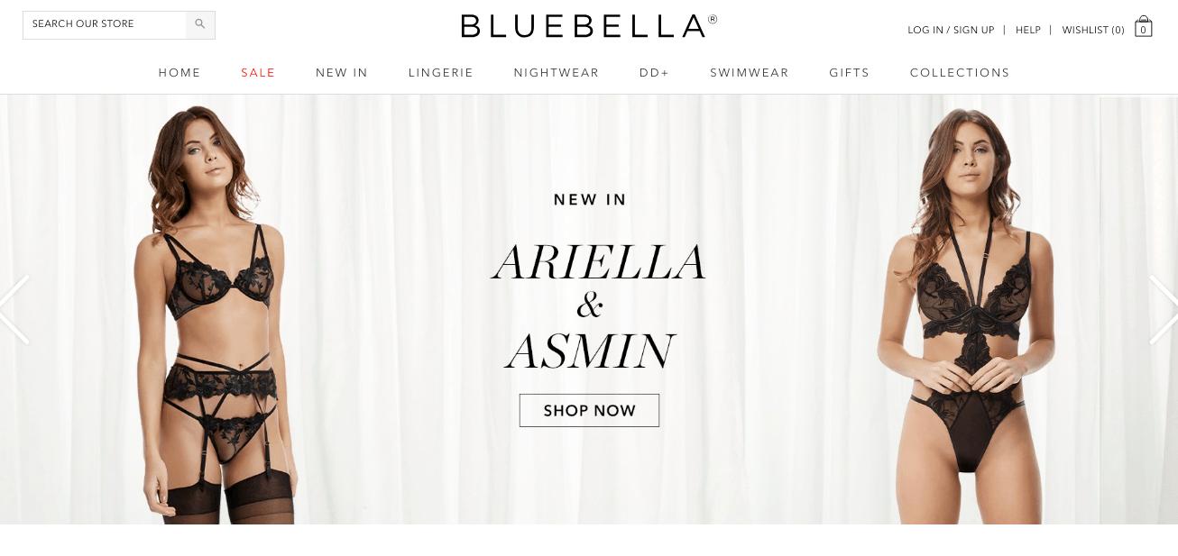 bluebella shopify