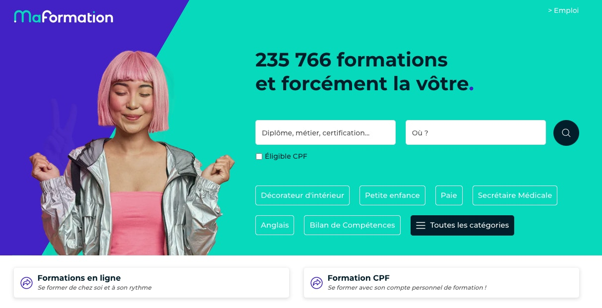 Formation en ligne marketing