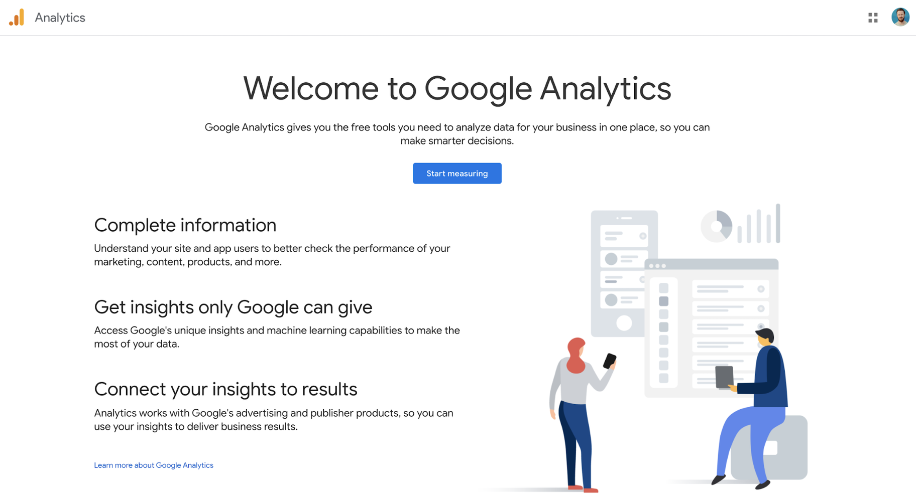 Small Business Software for Content Marketing and SEO: Google Analytics
