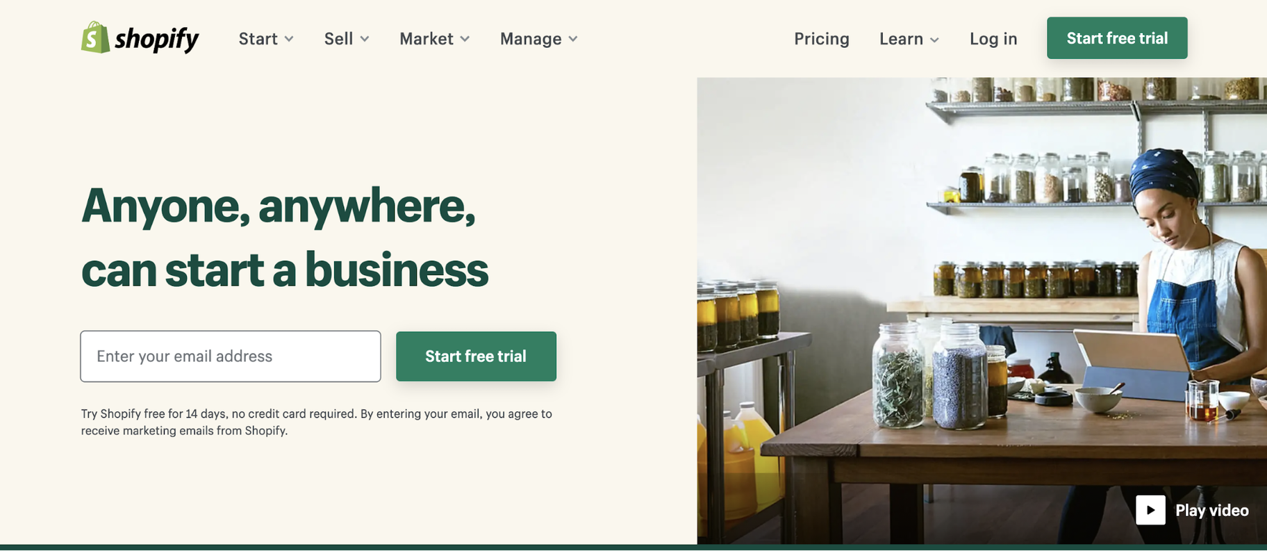 The Best Small Business Software Program: Shopify
