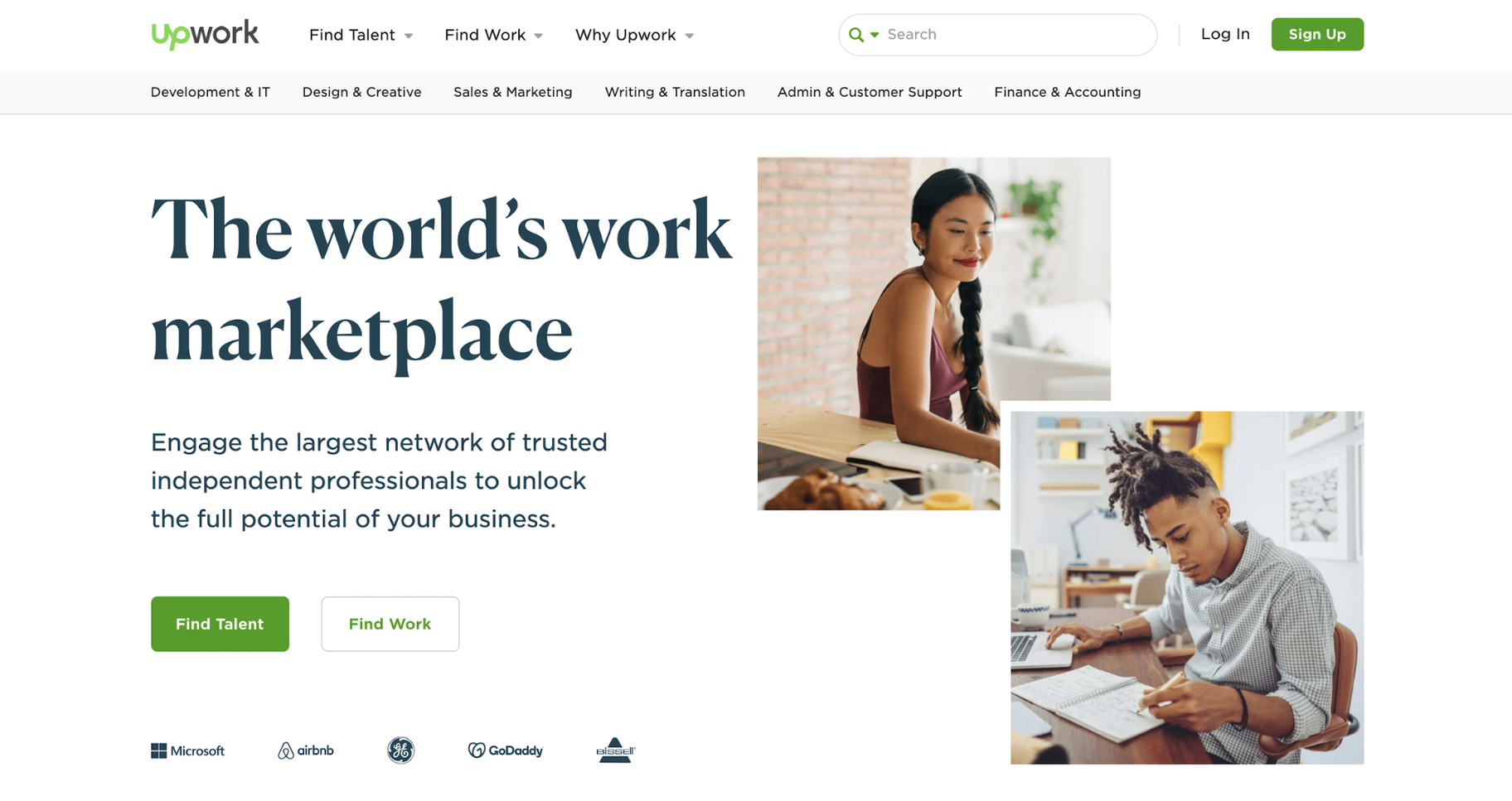 Tools for Hiring: Upwork