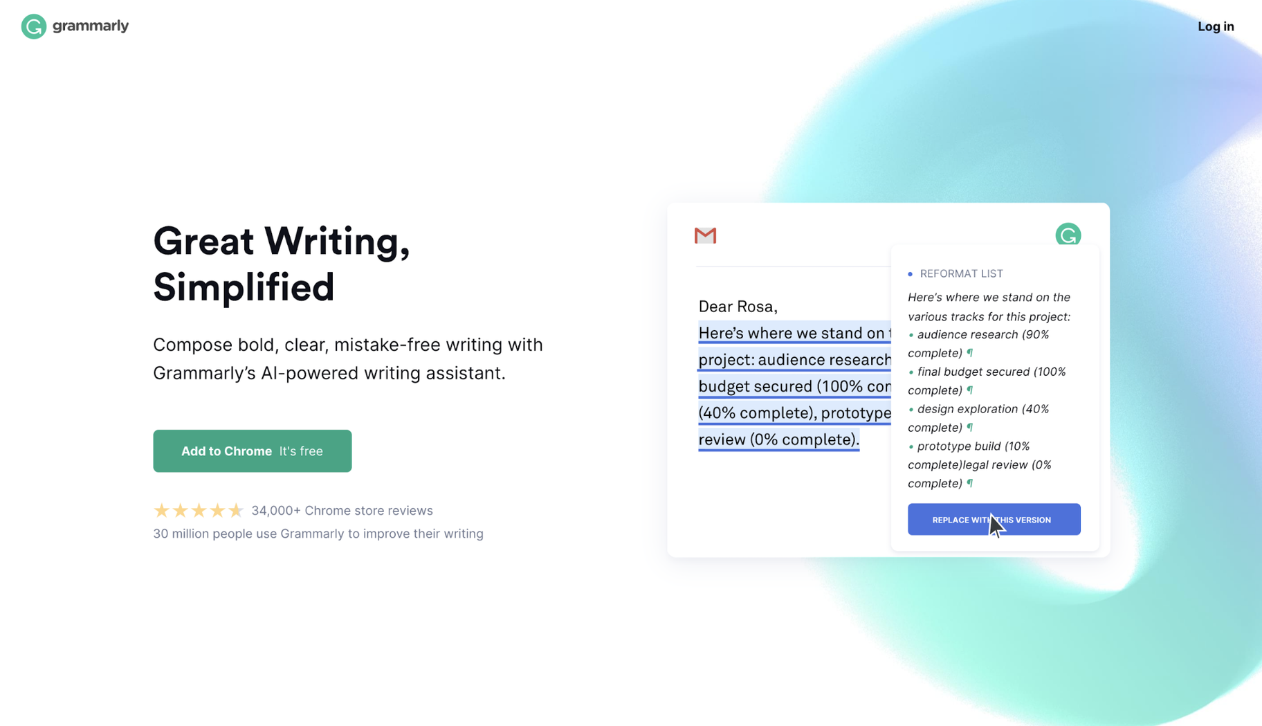 Best Software for Small Business Writing: Grammarly