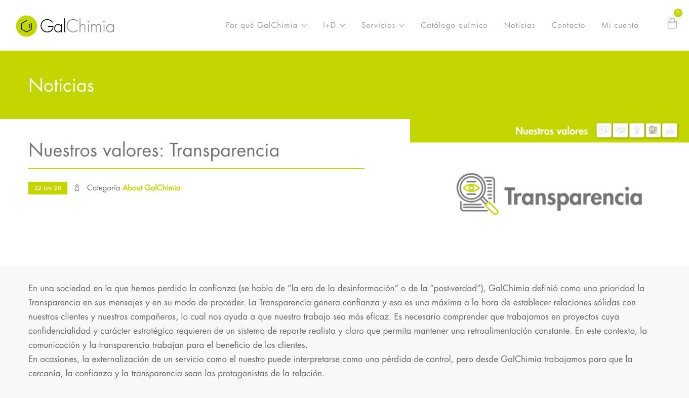 etica empresarial ejemplos galchimia