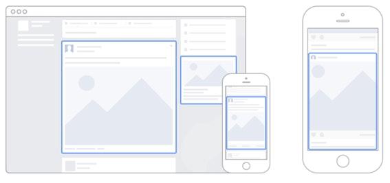 O posicionamento de anúncios no Gerenciador de Anúncios: modelos do Facebook