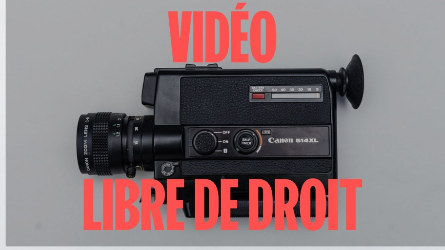 video libre de droit gratuite