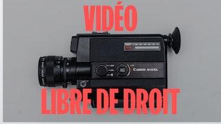 video libre de droit gratuite
