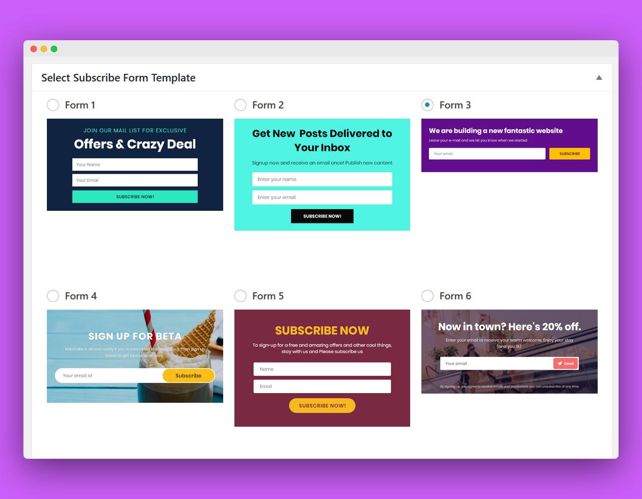 template newsletter