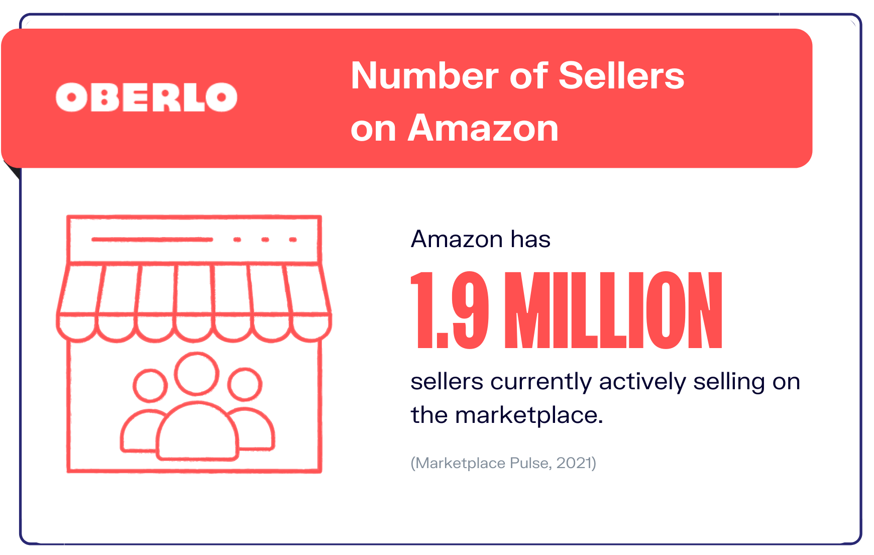 Amazon statistics number of sellers graphic