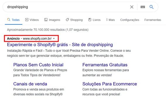 Estratégias de marketing digital para e-commerce: SEM no Google
