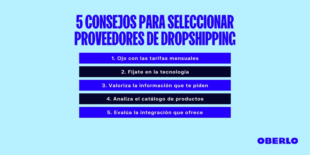 proveedor dropshipping colombia consejos