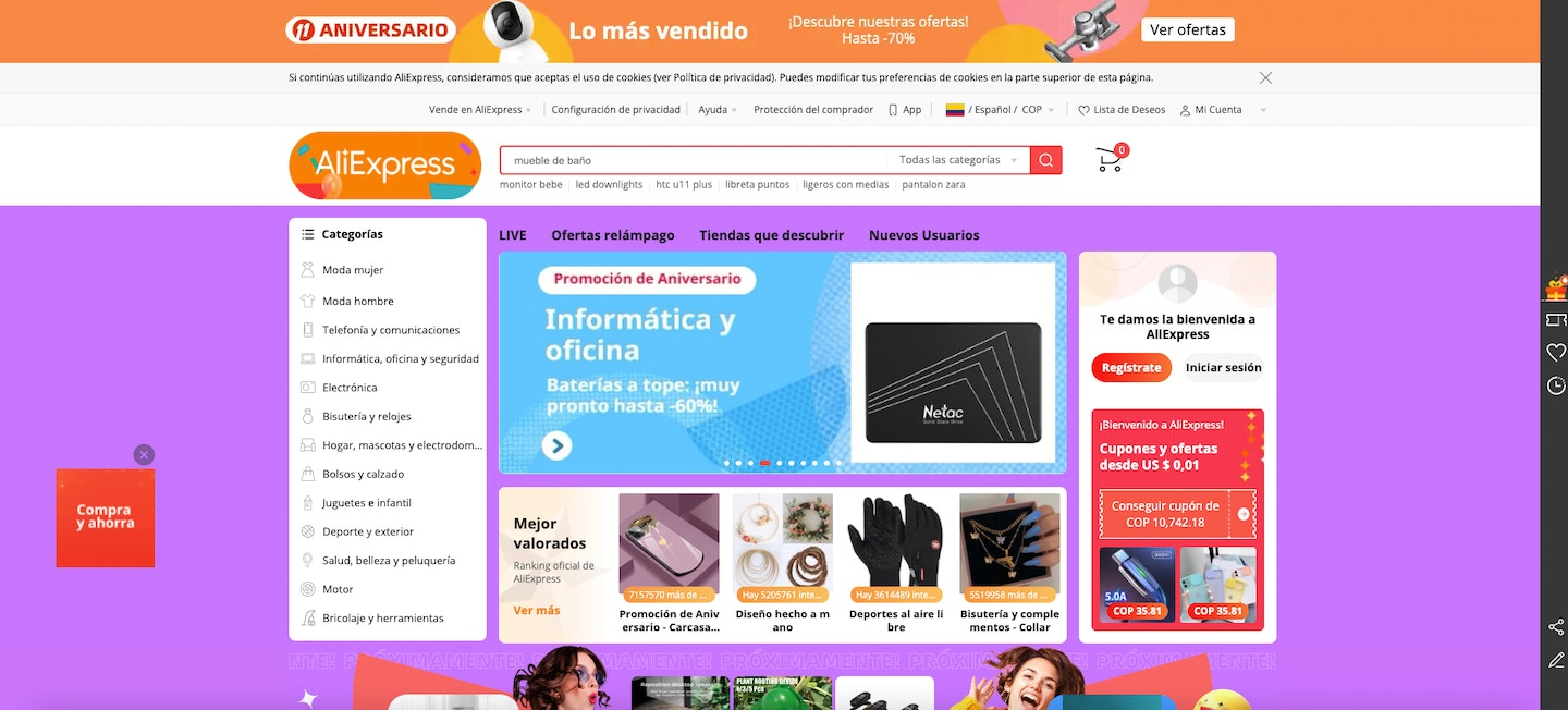 proveedores dropshipping colombia aliexpress