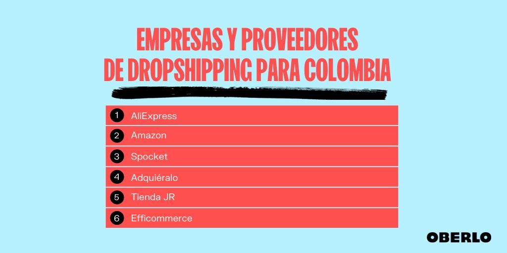 directorio de proveedores dropshipping colombia