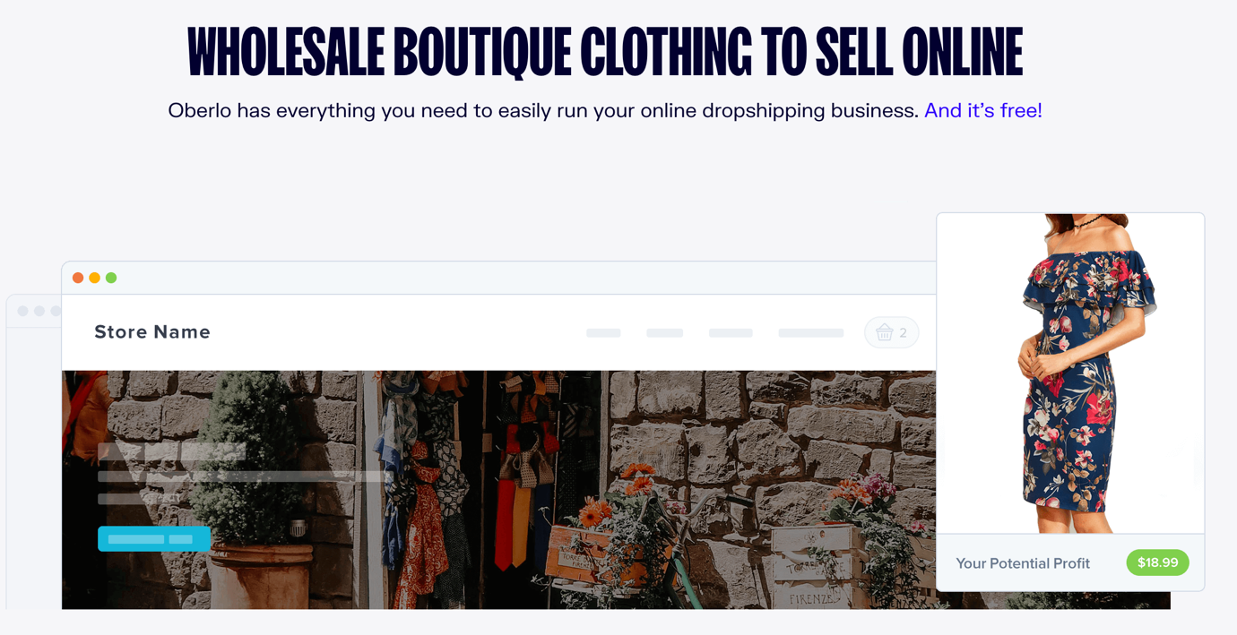 dropship boutique clothing