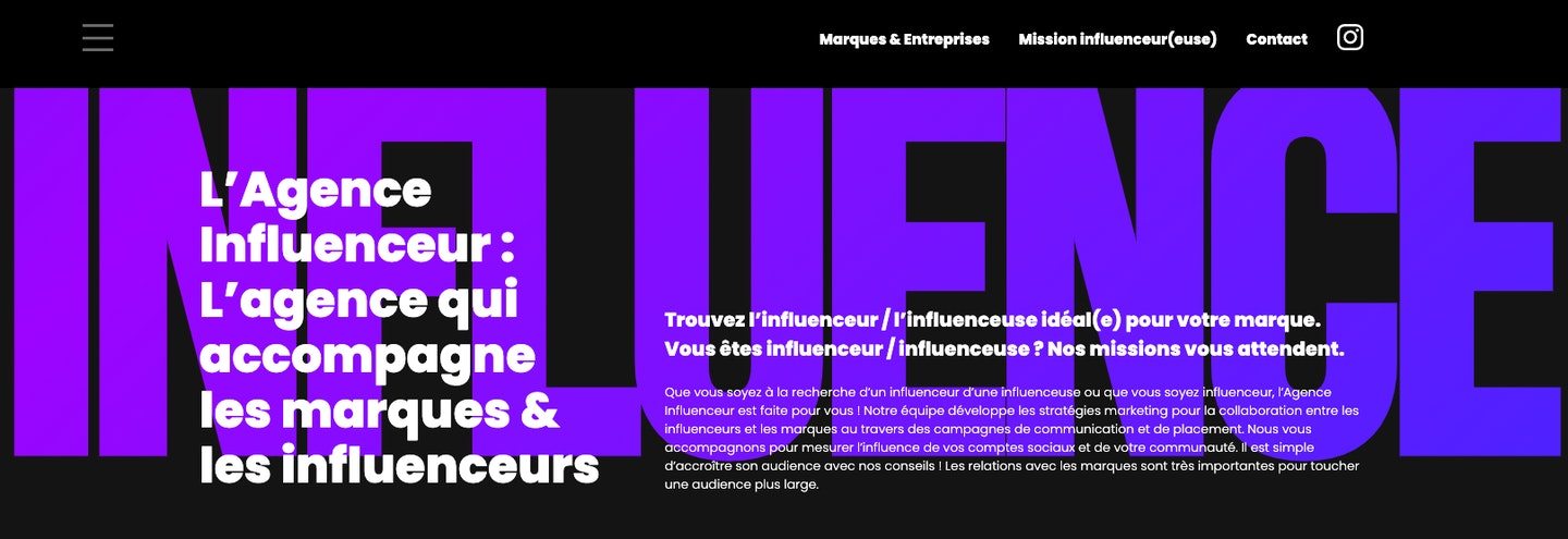 Agence influence