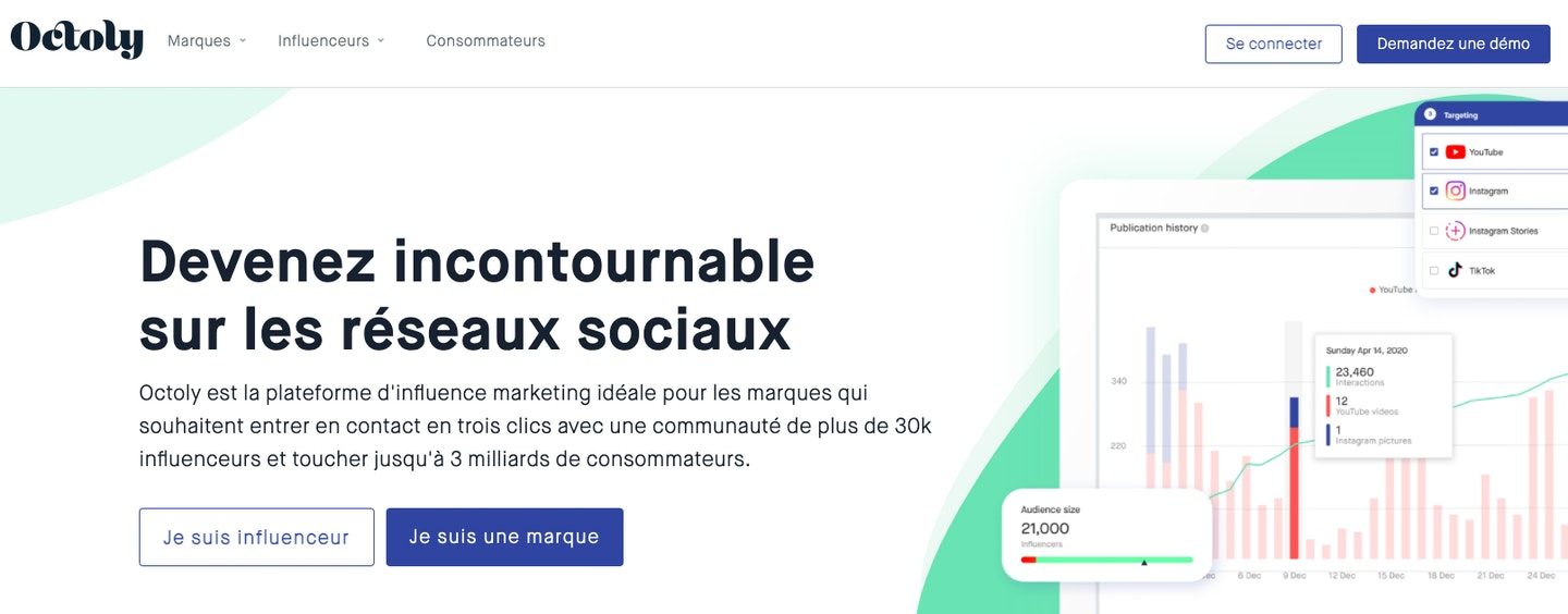 Influenceurs agence