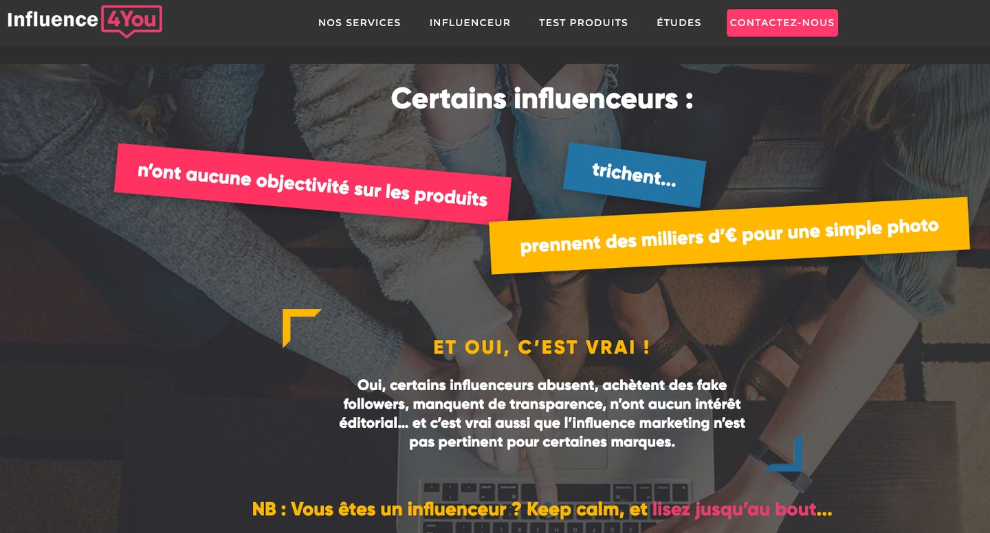 agence influenceur