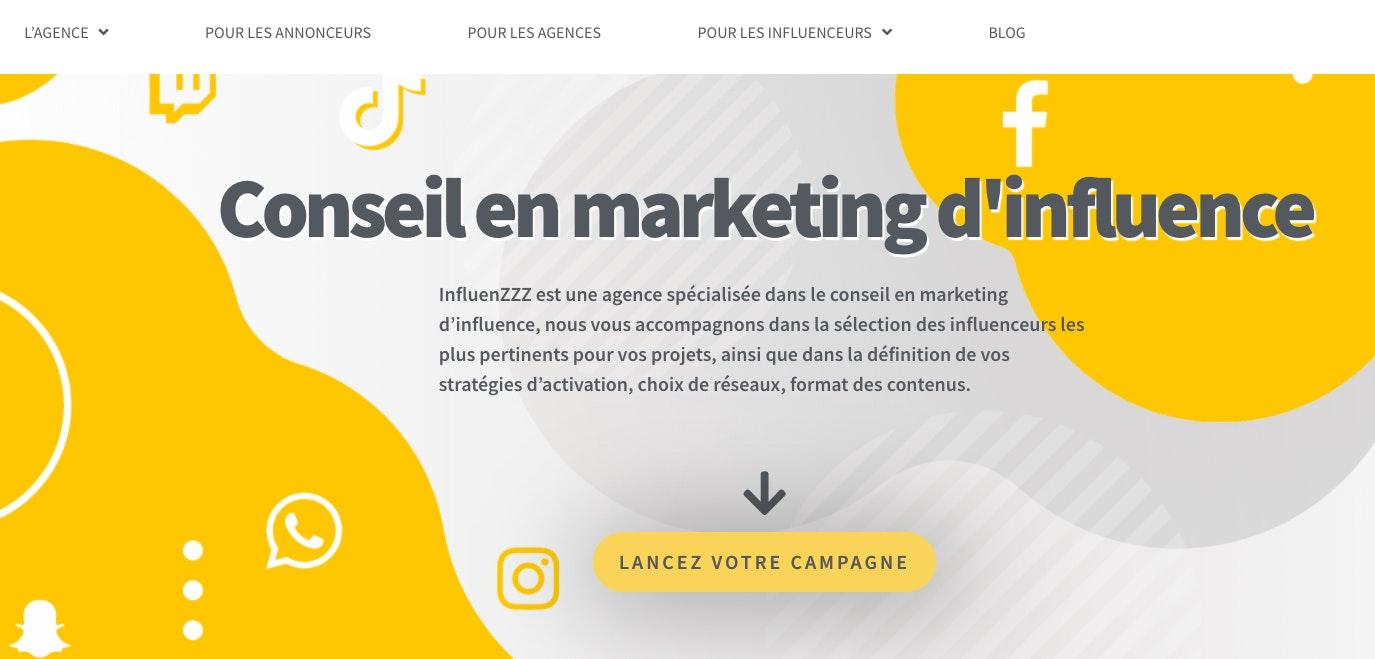 agence marketing influence