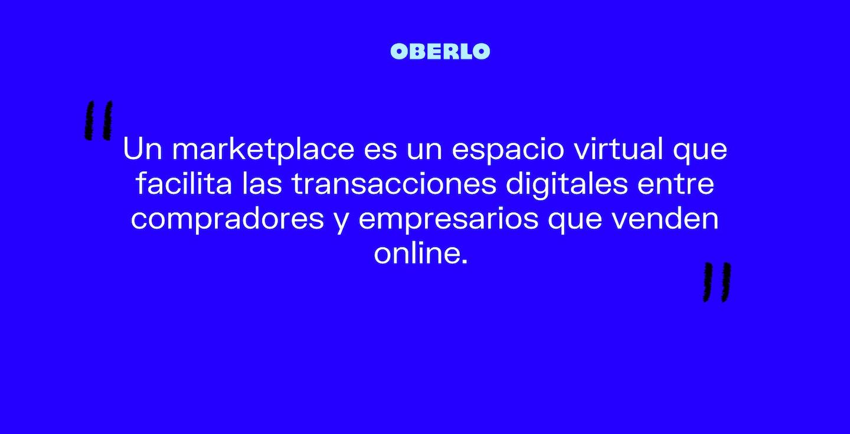 que es un marketplace o mercado digital