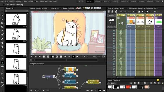 OpenToonz é o melhor programa de animação grátis
