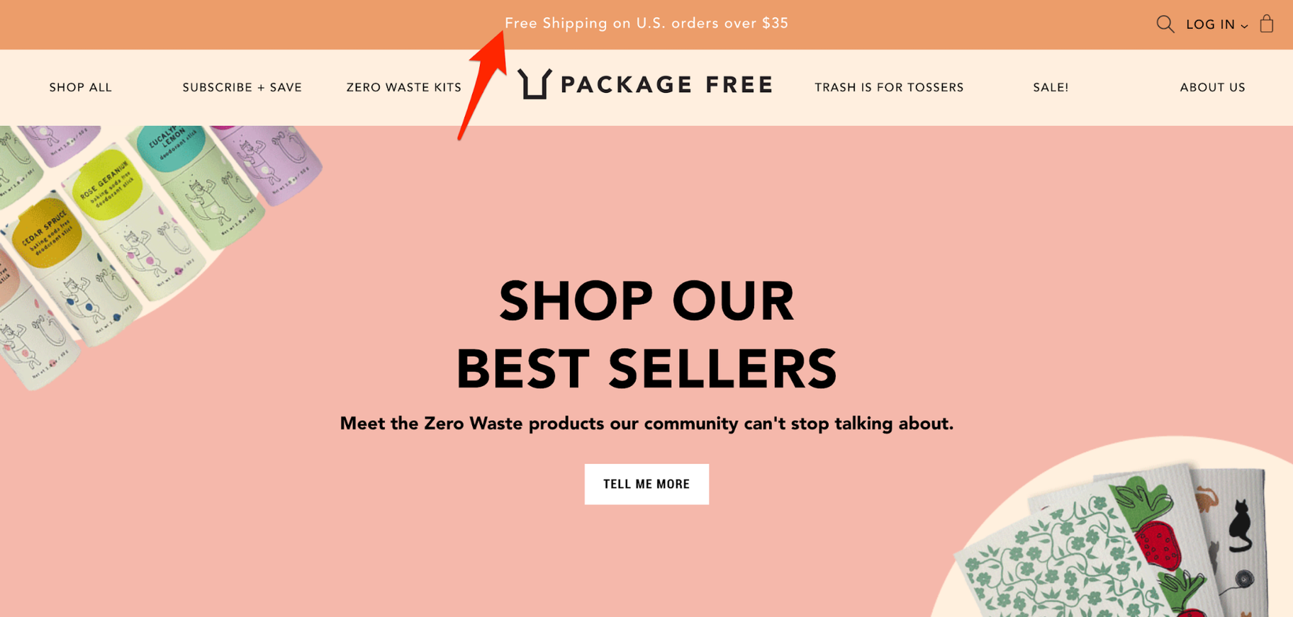 Ecommerce Free Shipping: Package Free