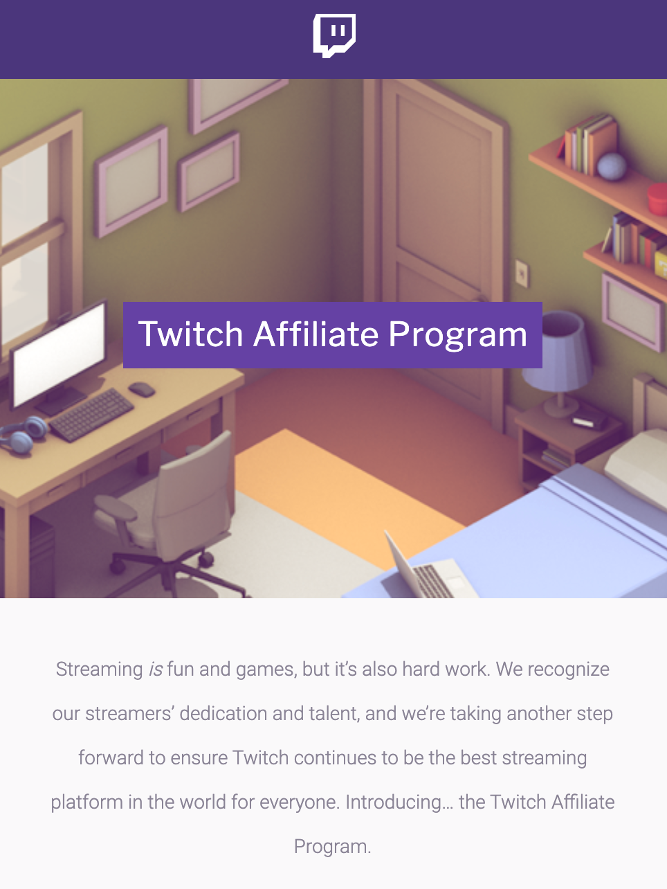 How to Get Money From Twitch: Become a Twitch Affiliate