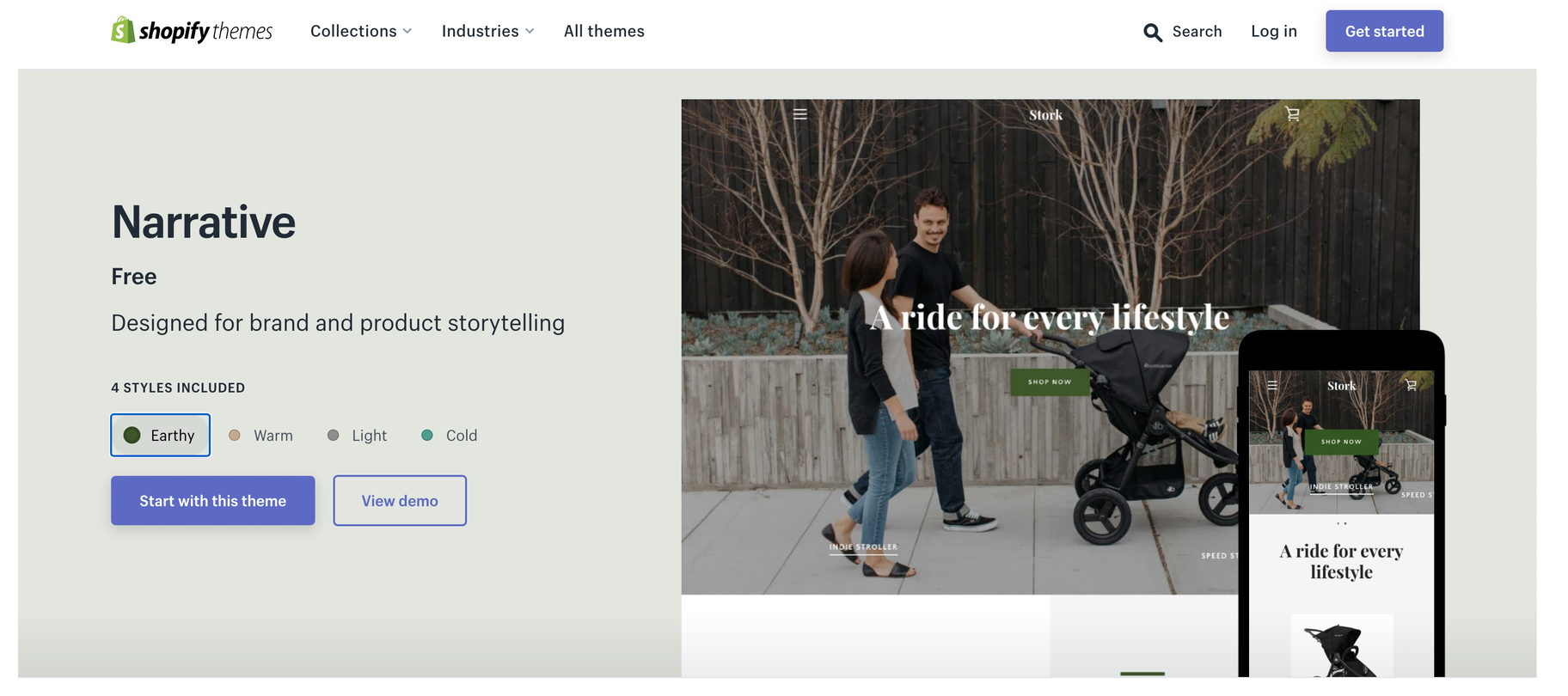 shopify product storytelling