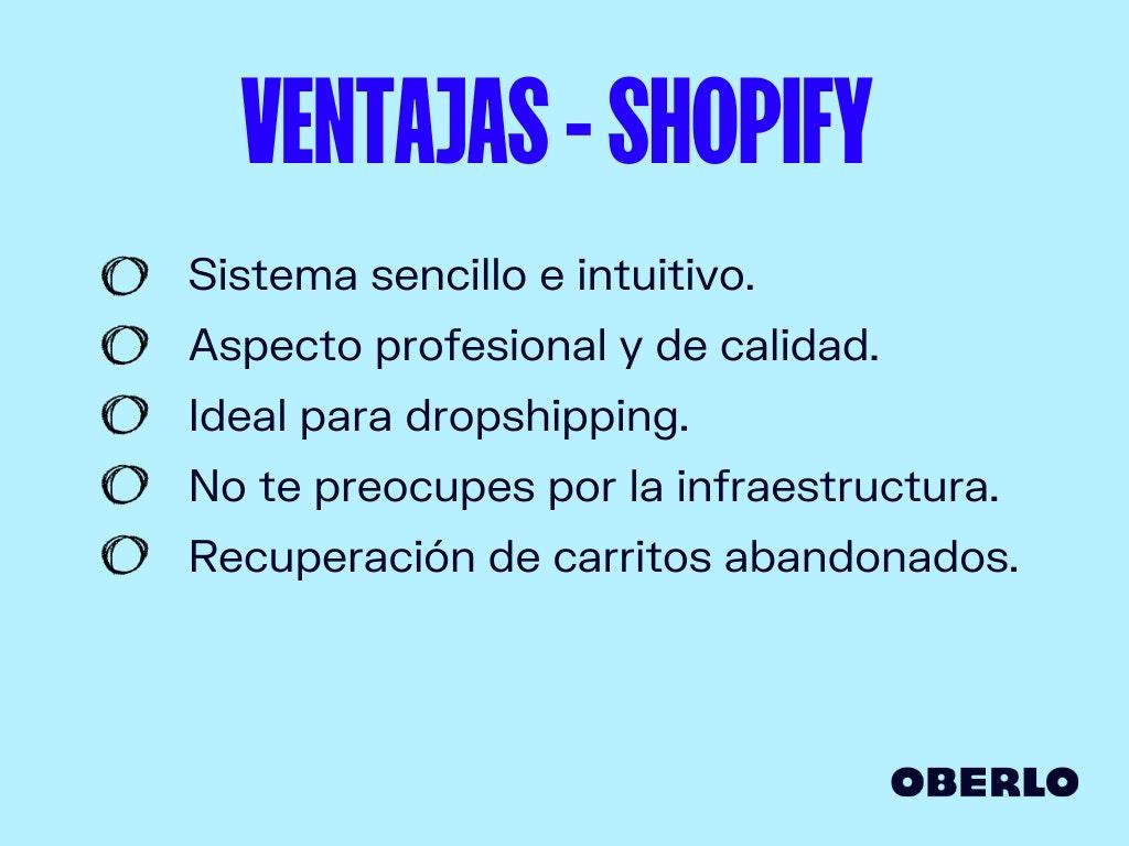 shopify colombia ventajas