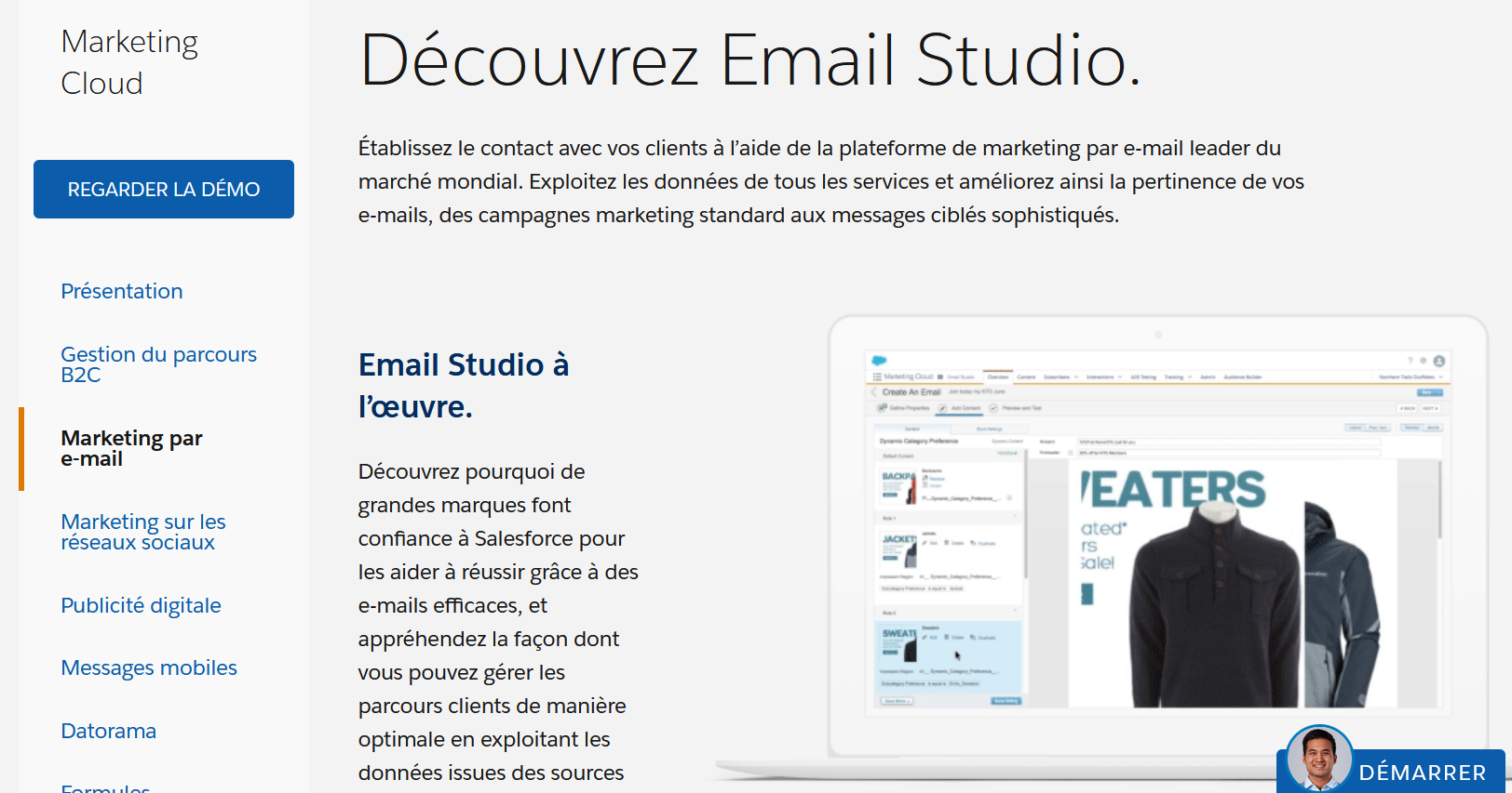 plateforme emailing sophistiquée