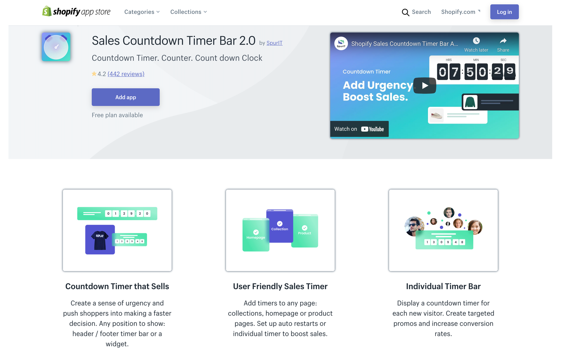 countdown timer ecommerce