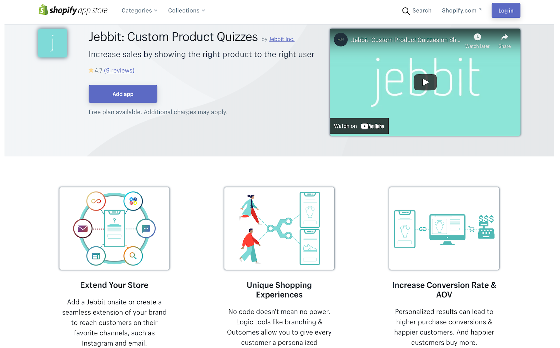 product quiz app shopify