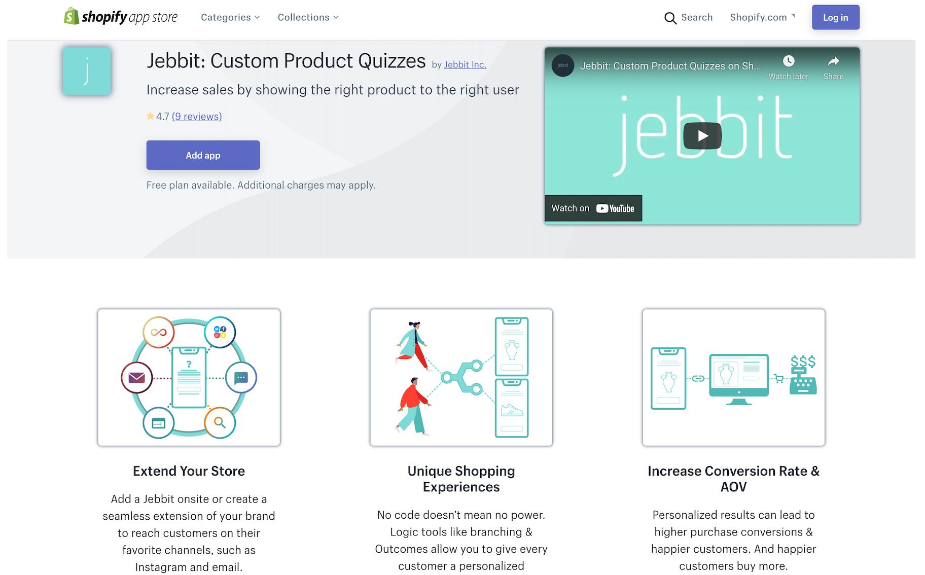 product quiz app shopify