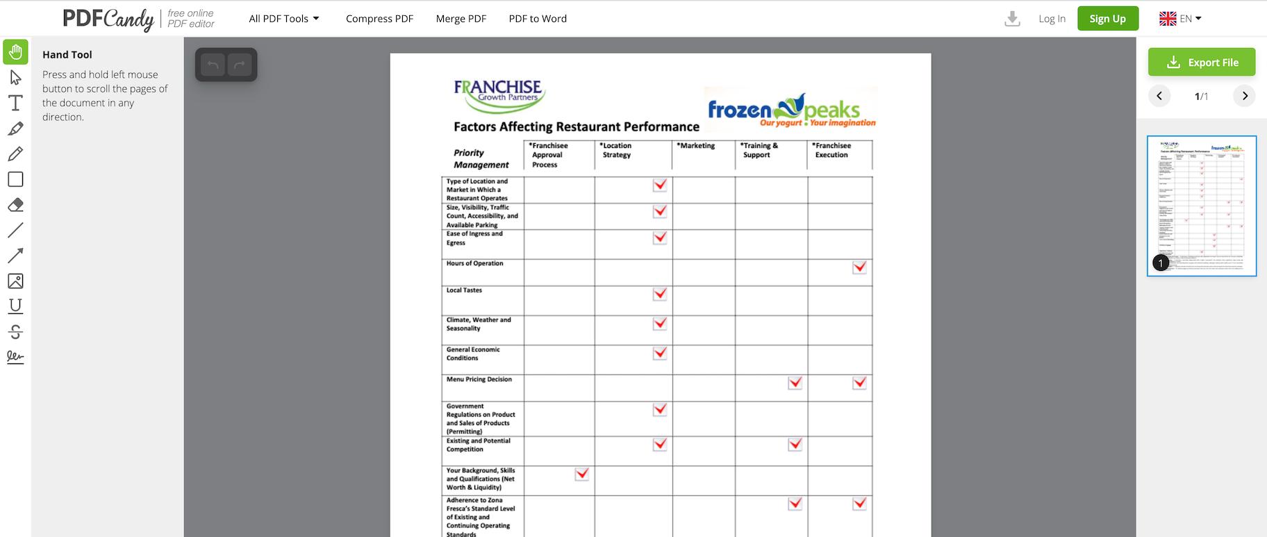 browser-based PDF editors