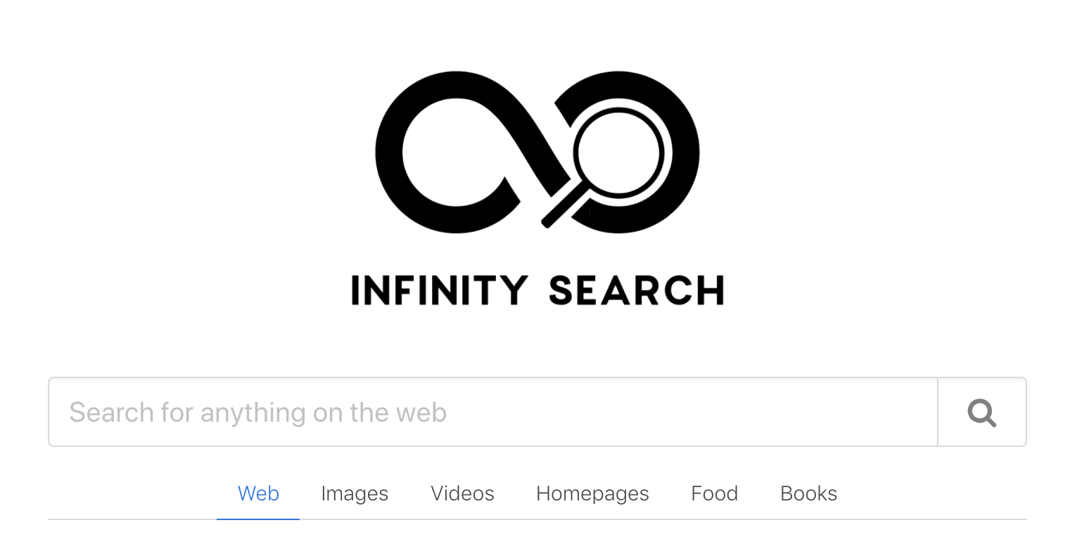 motori di ricerca - infinity search