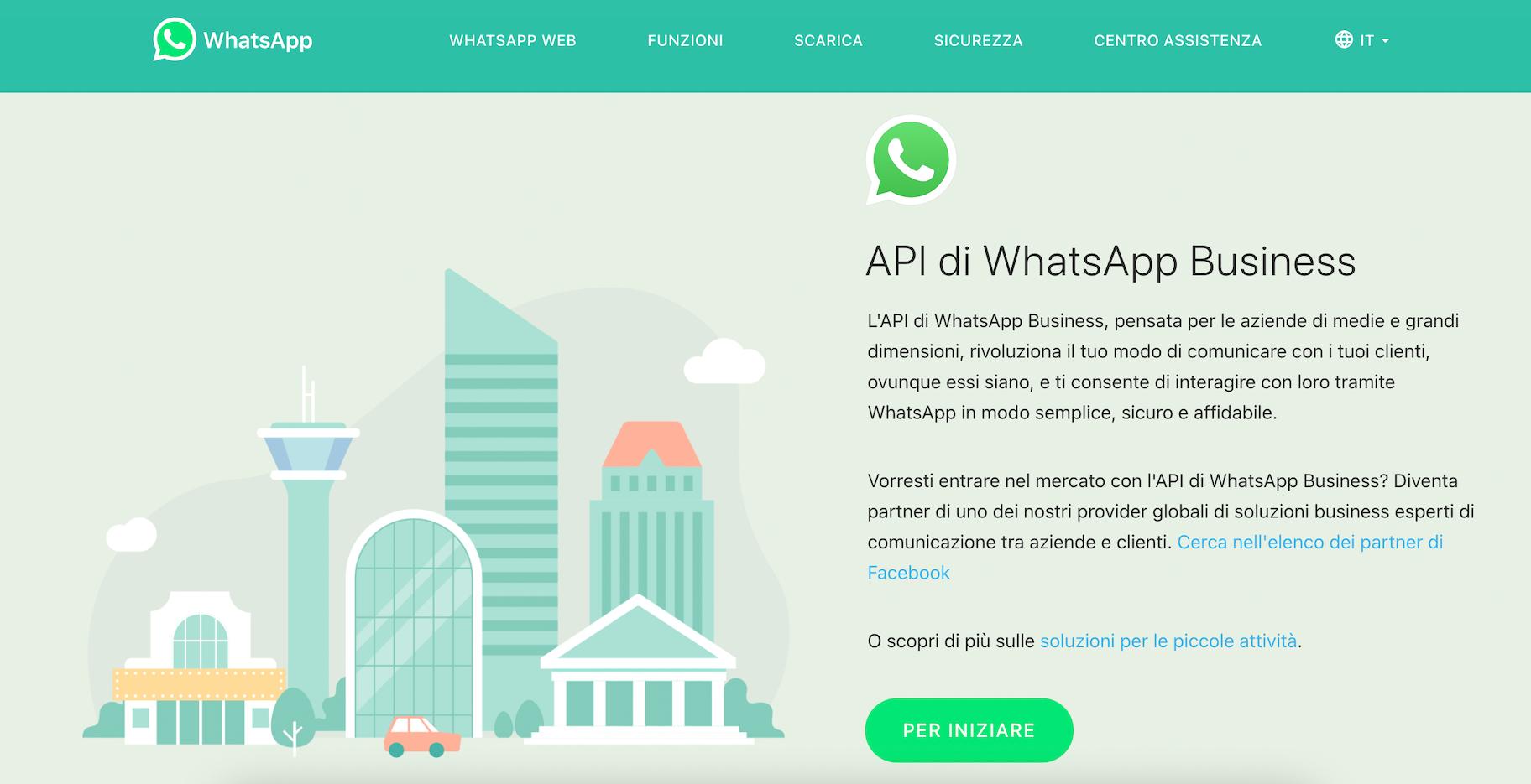 api whatsapp business