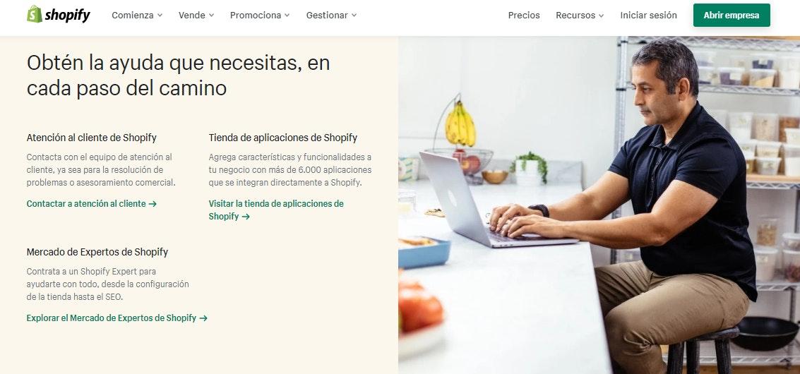 Servicio de soporte de Shopify vs Prestashop