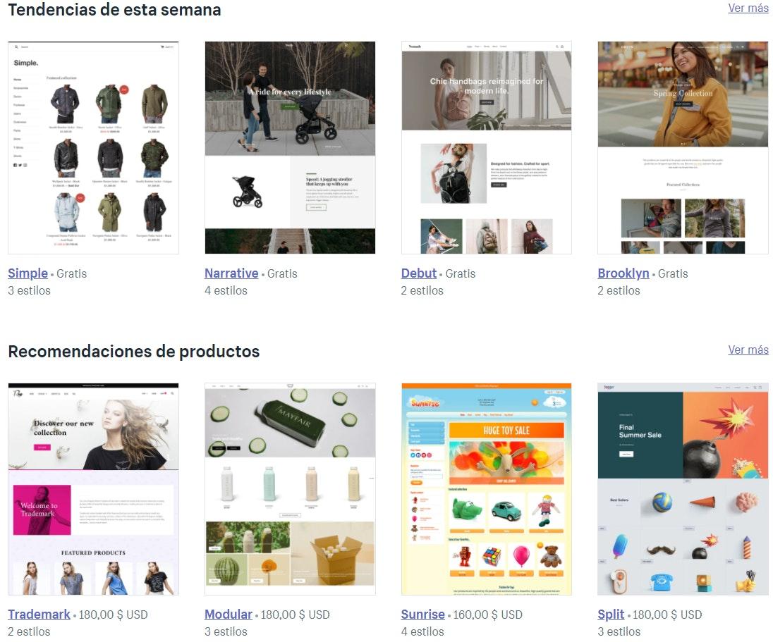 Personalización de Shopify